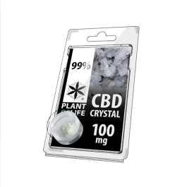 Cristaux de CBD 99% de CBD – 100MG – Plant Of Life