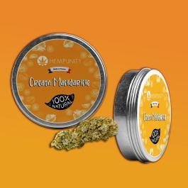 Fleurs CBD Cream Mandarine | 6% de CBD | Moins de 0,2% THC | Hempunity