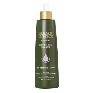 Hempworx Rose Geranium Patchouli Body Wash