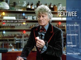 Página 1 portfolio Jon Pertwee