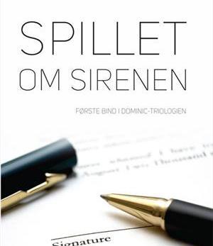 """Hende Jensen blog - """"Spillet om Sirenen"""" af Pernille Vørs boganmeldelse - Dominic trilogi"""