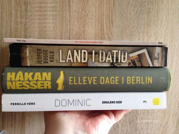 Book haul #1 - anmeldereksemplarer - Jensens bogblog