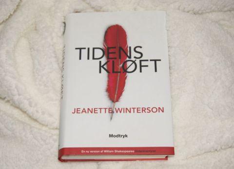 """""""Tidens kløft"""" af Jeanette Winterson - boganmeldelse - Bogfinken bogblog"""