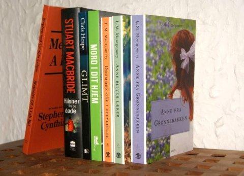 November måned nyanskaffelser - nyt i stakken #6 - Bogfinken bogblog