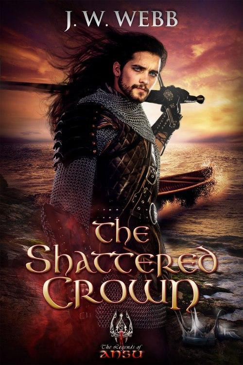"""""""The Shattered Crown"""" af J.W. Webb - boganmeldelse - Bogfinken bogblog"""