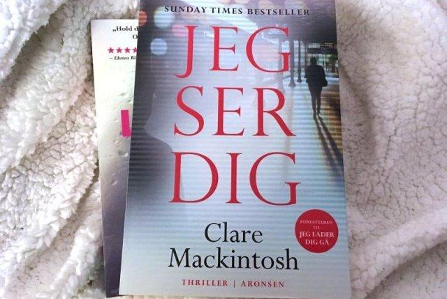 """""""Jeg ser dig"""" af Clare Mackintosh - Bogfinkens bogblog"""