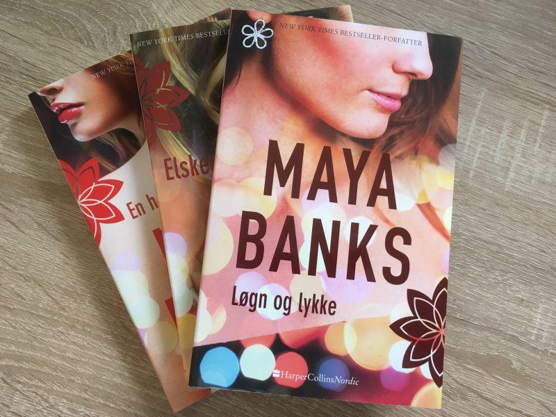 Løgn og lykke af Maya Banks - Bogfinkens bogblog