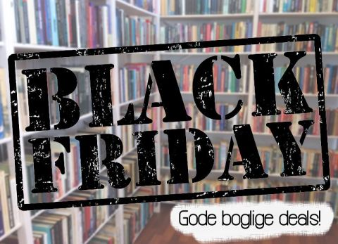 Gode boglige Black Friday deals - Bogfinkens bogblog