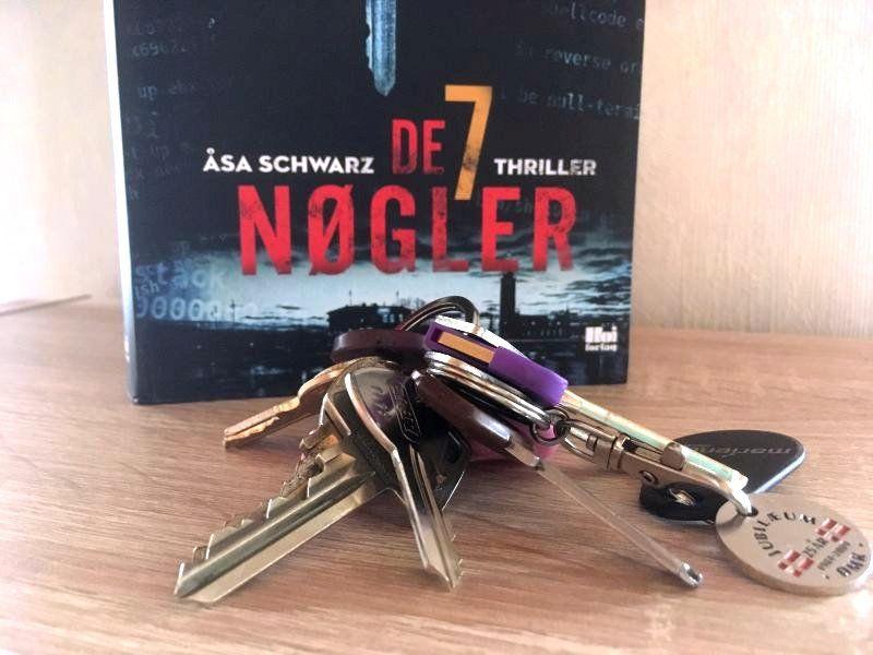 De 7 nøgler af Åsa Schwarz - Bogfinkens bogblog