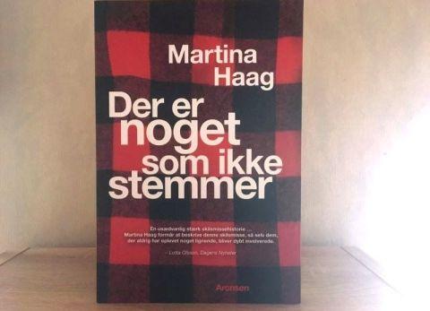 Der er noget som ikke stemmer af Martina Haag - Bogfinkens bogblog