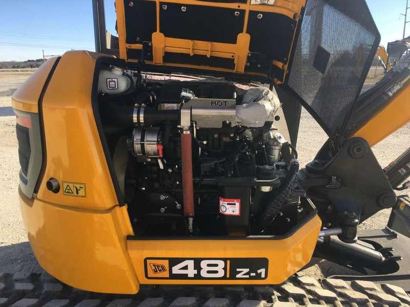 JCB 48Z-1 Mini Excavator For Sale In Decatur