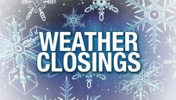 Weather delays/closings for Wednesday, Feb  25