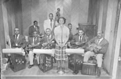 Doug's Blue Notes band, circa 1950. Paul Henderson, HEN.00.A1-011.