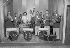 Doug's Blue Notes Band, circa 1951. Paul Henderson, HEN.00.A2-252.