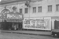 Exterior view of the Regent Theatre, 1619 Pennsylvania Avenue, Baltimore, circa 1951. Paul Henderson, HEN.00.B1-012.