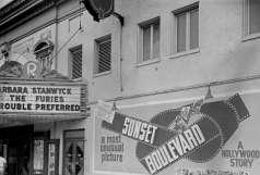 Exterior view of the Regent Theatre, 1619 Pennsylvania Avenue, Baltimore, circa 1950. Paul Henderson, HEN.00.B1-014.