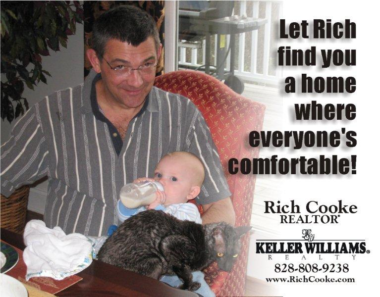 Let Rich Cooke help you find a Hendersonville home where everyone is comfortable.