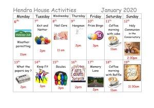 Activities01 - Jan 2020