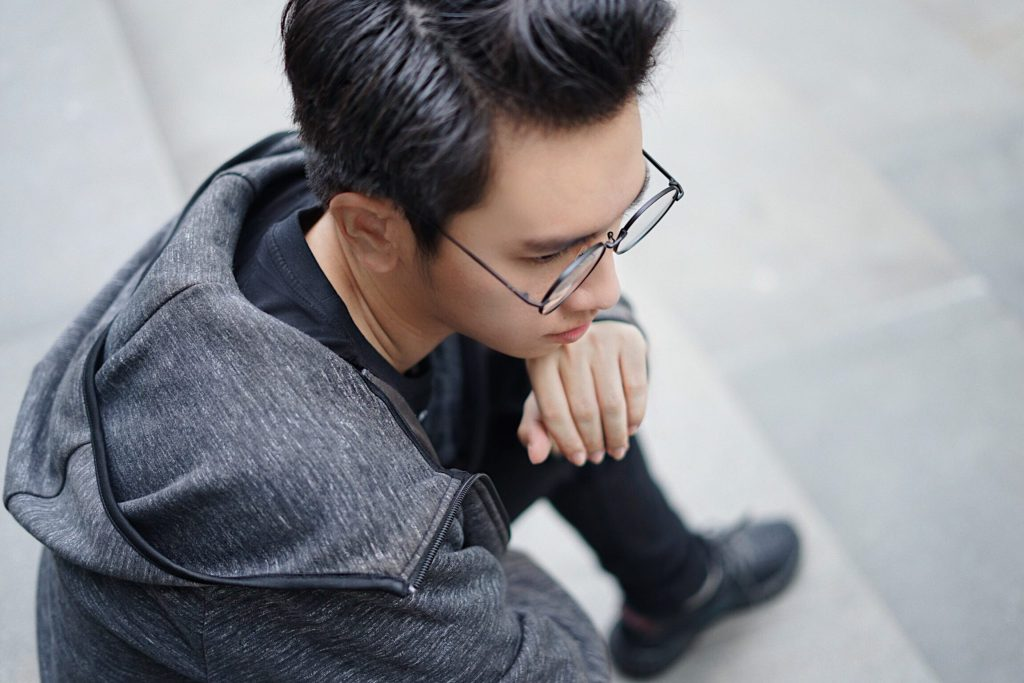 Rebellious Style Indonesian Fashion Blogger Hendra Wijaya Fashion Blogger Pria Indonesia Black Monochrome