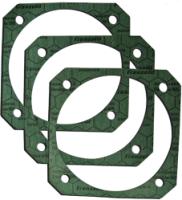 Flachdichtungen aus NOVAPRESS flexible 815 für den Maschinenbau. Bild: Fa. Hendricks