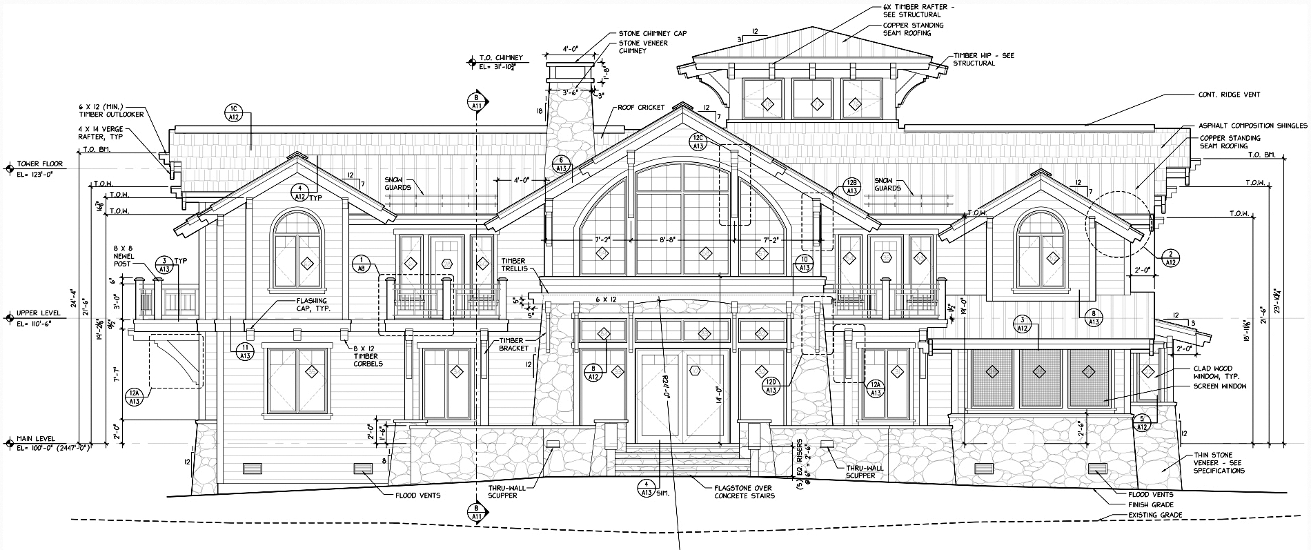 Sketches Mountain Architects Hendricks Architecture Idaho