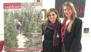 With Celebrate Gettysburg magazine editor Krista Scarlett, at a Behind the Cover event