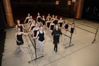 Promoting a dance master class for aspiring dancers with Suzanne Farrell