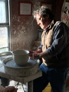 Handshaw creates a bowl