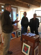 Thulin discusses his artwork