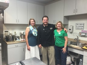 Chef Jeremy with my friend Sharon & I