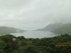 Fjords, pretty even in the rain
