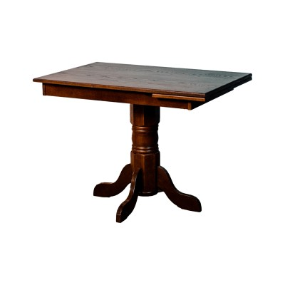 26x40-dinette-table-with-pull-out-metal-mechanism-and-spun-import-pedestal-1
