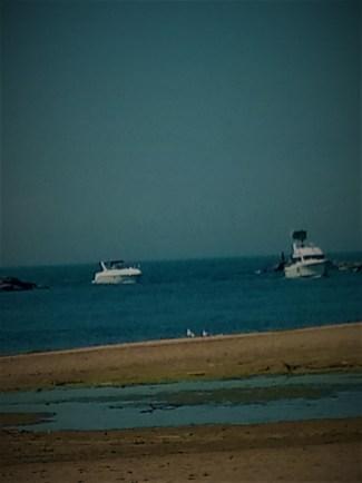 boats at beach
