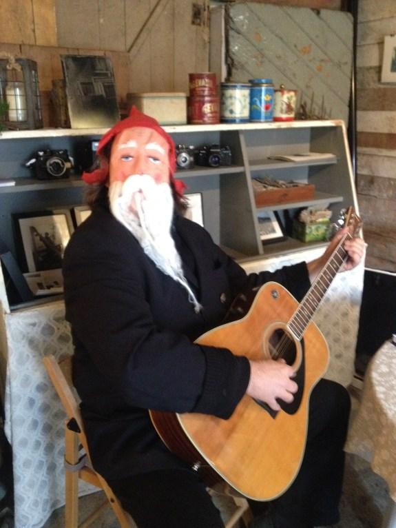 Santa turned up!