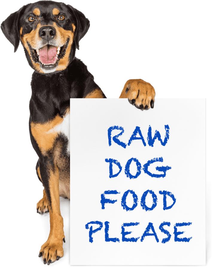 Raw Dog Food Please Sign