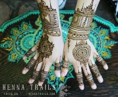 India inspired henna