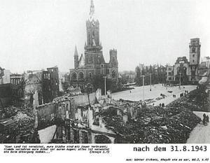 Rheydt Stadtmitte 1943
