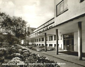 Wohnheim Mädchenschule 1960