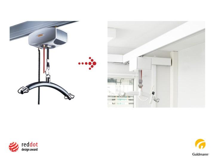 New Ceiling hoist Project Manager Henning Kristensen