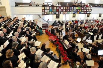 2015 Handel's Messiah with Octavo Singers in New York
