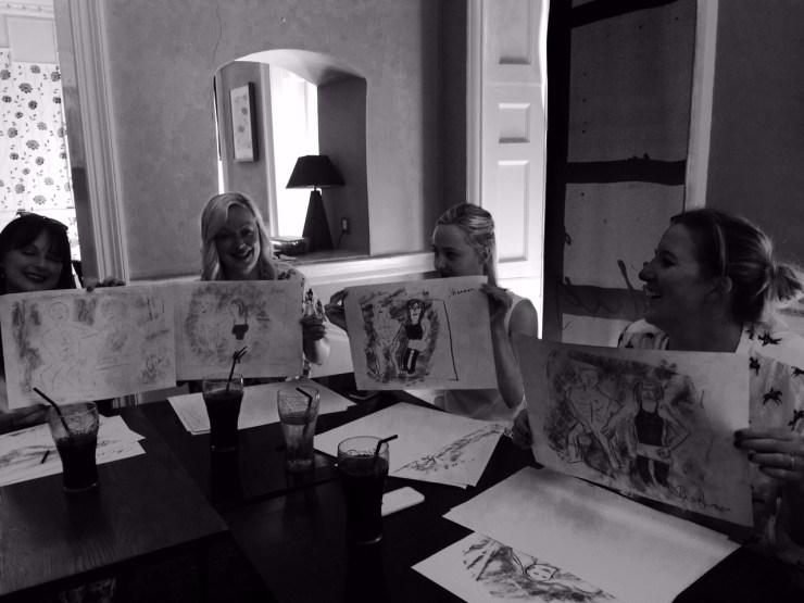 Hen Party Activity Life Drawing Bristol & Bath