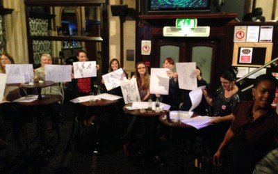 Bristol Hen Party Entertainment – Life Drawing