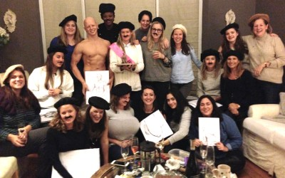 Hen Party Entertainment in Cheltenham – Life Drawing!
