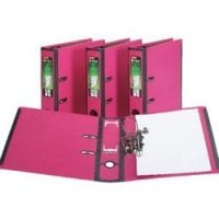 Pink folders from Staples