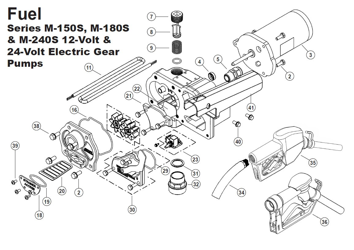 Gpi 07 Switch Assembly For M 180s Pump
