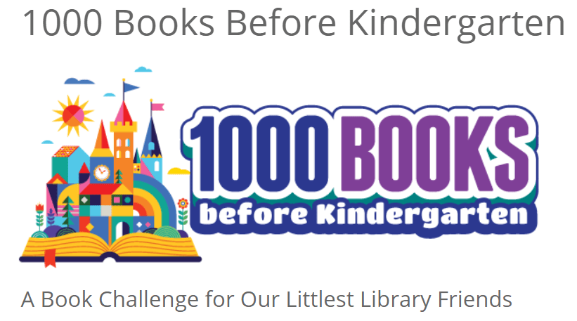 Henrico County Library - 1000 Books Challenge