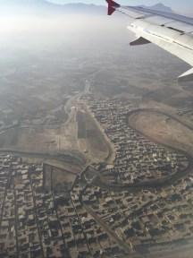 Landing in Kabul