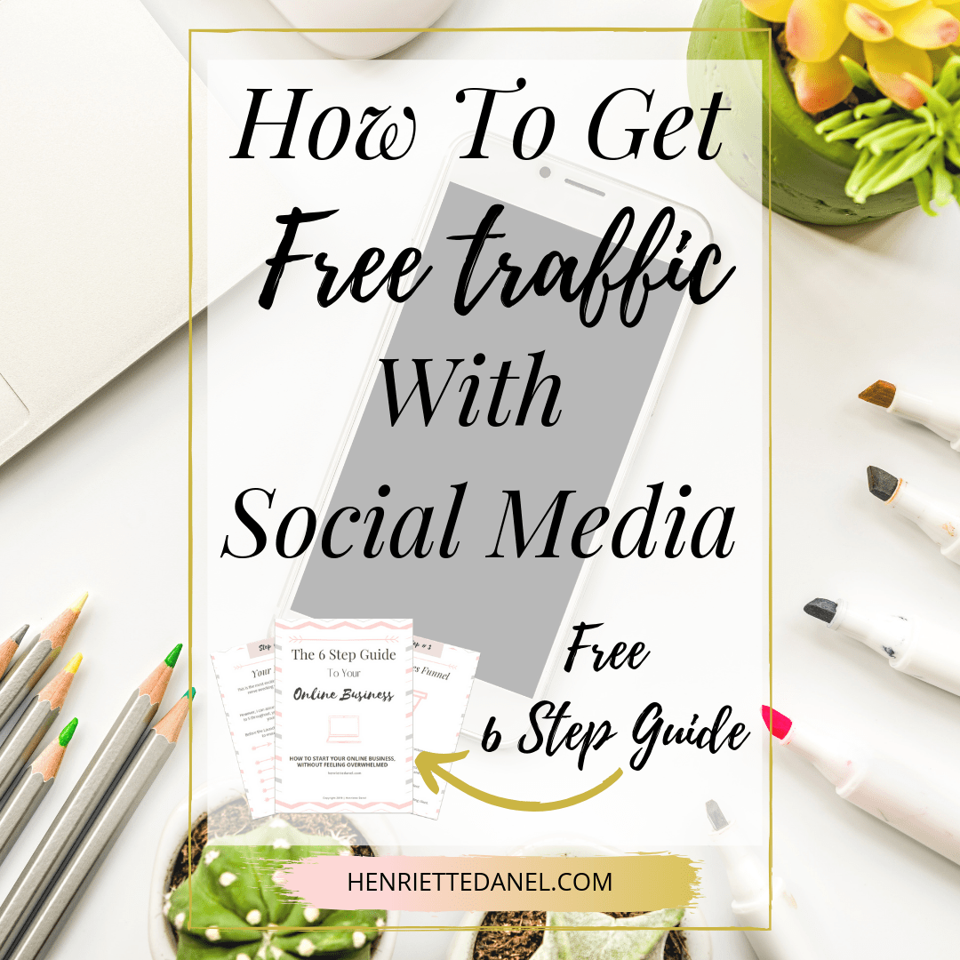 how to get free traffic with social media