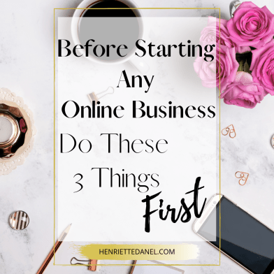 coffee with mobile phone before starting any online business do these 3 things first