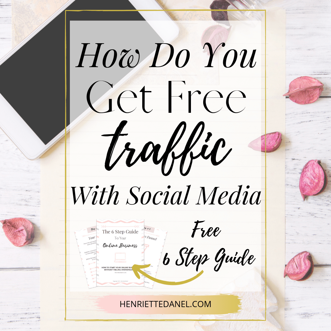 how do you get free traffic with social media